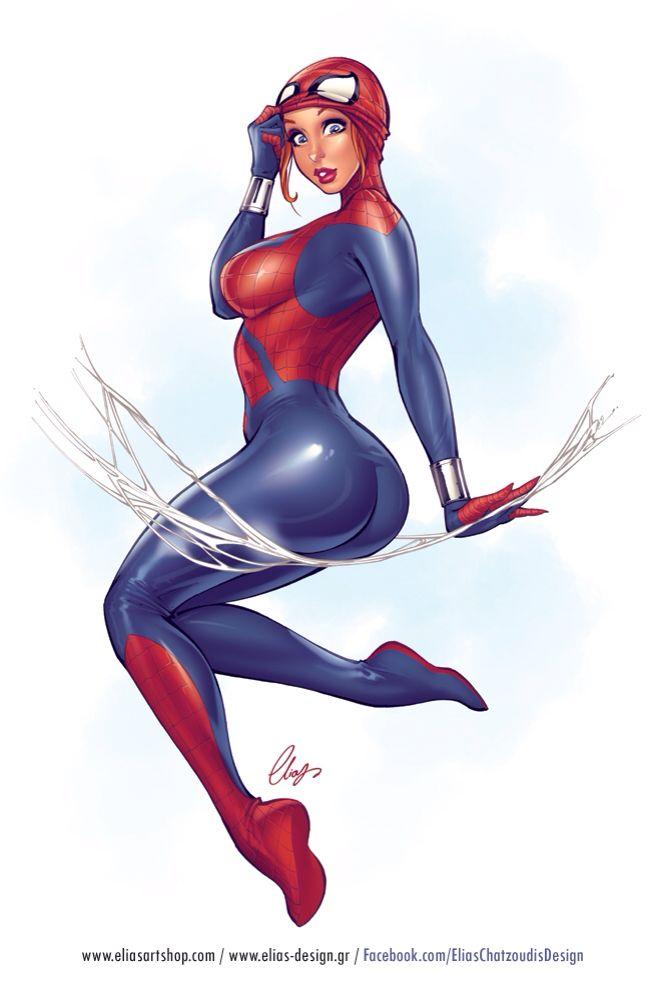 Spider-Girl - by Elias Chatzoudis | #comics #marvel