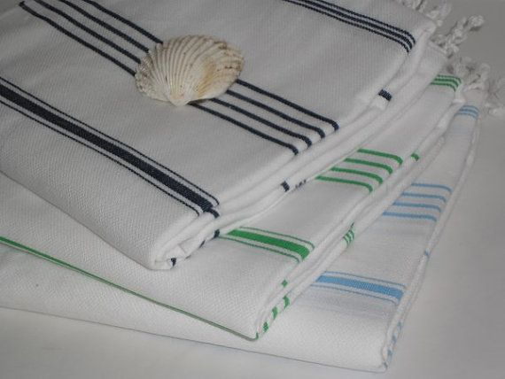 Free Shipping Fouta Towel Peshtemal Towel Beach Towel  by muzey, $59.00