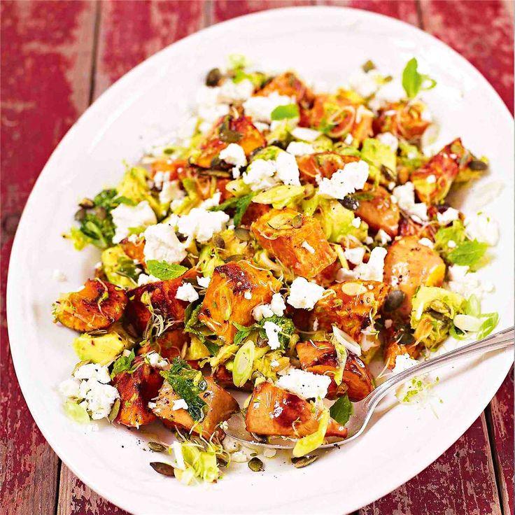Pumpkin & Feta Cheese Salad