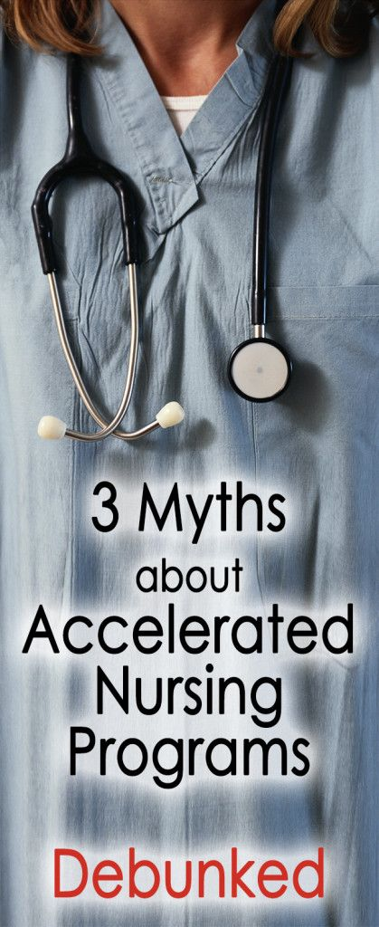 3 myths about accelerated nursing programs debunked