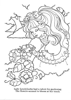 Lady lovely locks on pinterest love lock 80 toys and for Lady lovely locks coloring pages