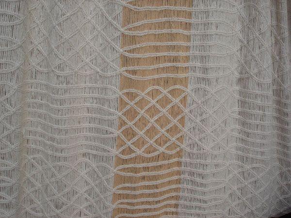 Detail van de bijzonder geweven Wayuu Patuwash hangmat