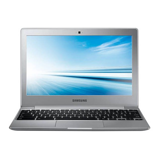 Samsung Chromebook XE500C12-K01US 11.6 inch Intel Celeron N2840 2.16GHz/ 2GB DDR3L/ 16GB eMMC/ USB3.0/ Chrome Notebook (Metallic Silver)