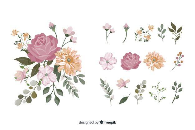 Hermoso Ramo De Flores De Acuarela Vecto Free Vector Freepik Freevector Flor Floral Flores Em Aquarela Flores Desenhadas A Mao Lindo Buque De Flores