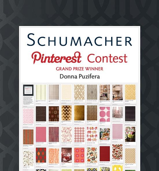 GRAND PRIZE WINNER - Donna Puzifera pinterest.com/... #Schumacher: Donna Puzifera, Grand Prizes, Colors Training, Interiors Decorators, Boards Buzz, Design Www Dfordesignoc Com, Contest, Lee Avenue, Pinterest