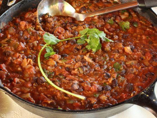 ... bean dip you'll ever taste! Served warm. #black beans #black bean dip