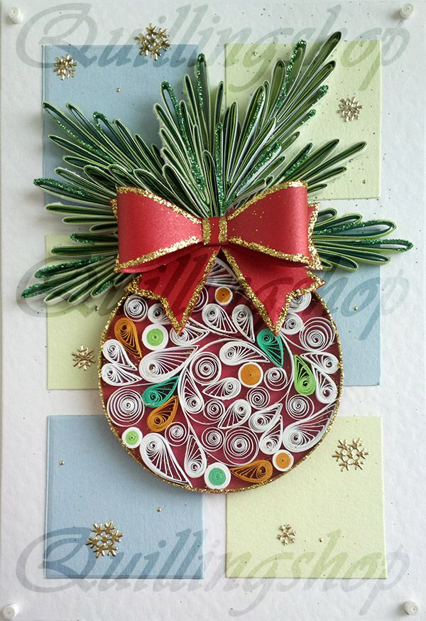 219 best images about quilling christmas on pinterest for Deco quilling
