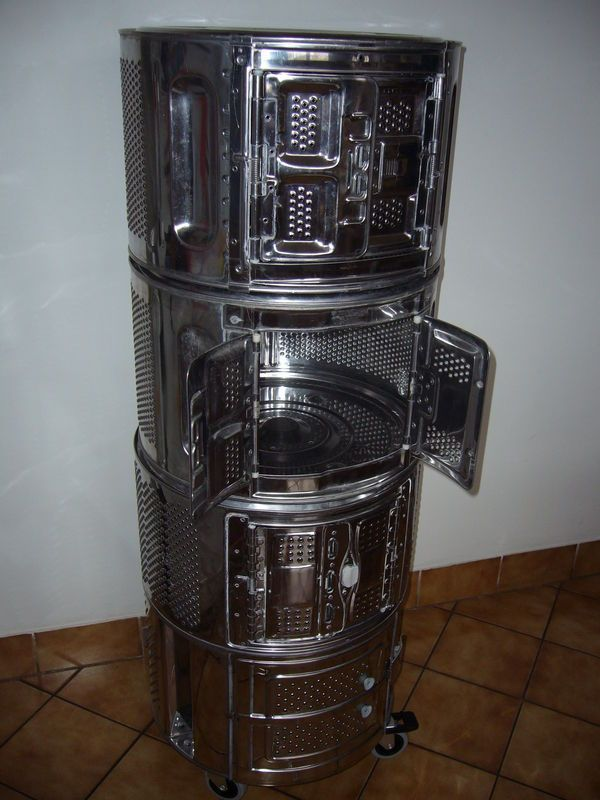 Meuble Tambour Machine A Laver