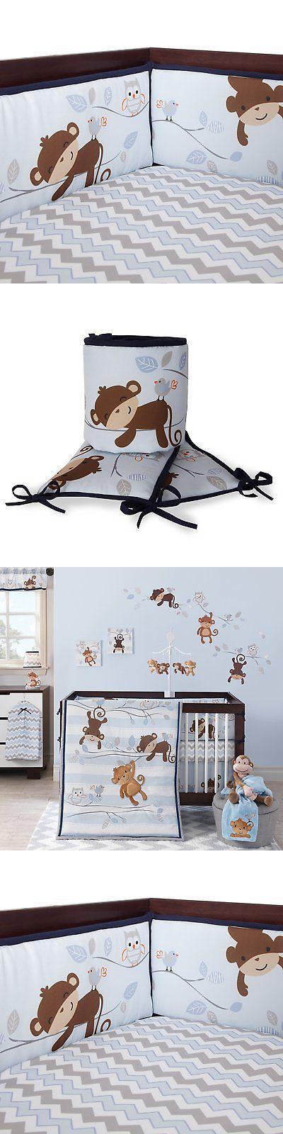 Bumpers 20417: Bedtime Originals Mod Monkey Bumper -> BUY IT NOW ONLY: $64.98 on eBay!
