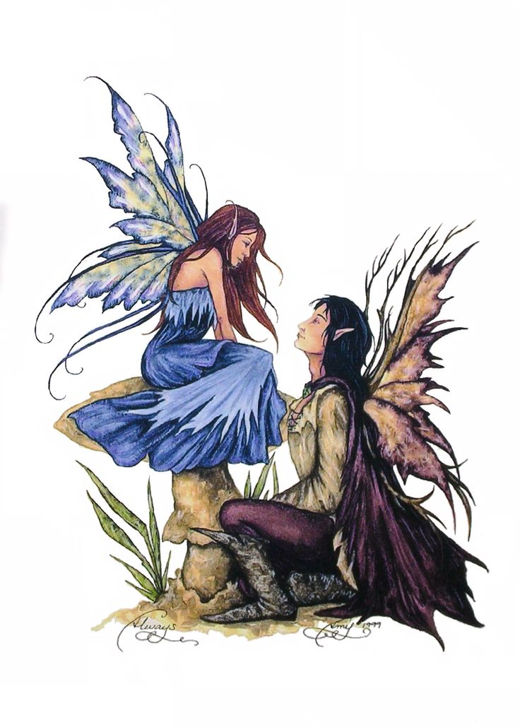 Fairy Art by Amy Brown - Always - love - romance - will you marry me?
