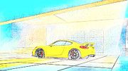 "New artwork for sale! - "" Porsche Cayman Gt4  by PixBreak Art "" - http://ift.tt/2kxNJWy"