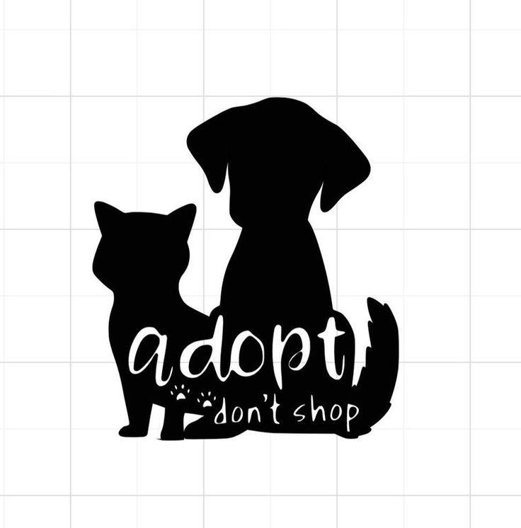 Adopt dont shop svg pet adoption svg adopt dont etsy