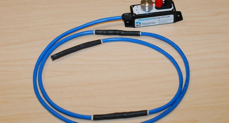 The ThermistorString-NTC3K from Mine Design Technologies (MDT) is a rugged, versatile and easy-to-install thermistor string that is fully customizable and manufactured to client requirements.