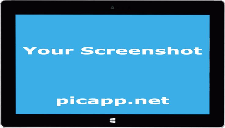 Free to download Microsoft Surface Tablet image in landscape mode. To place your app screenshot inside use the PicApp Image Customization tool here: http://picapp.net/customize_image