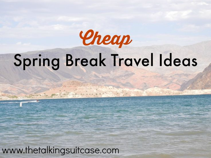 Traveling during Spring Break can get expensive.  It's one of the peak travel times of the entire year!  Learn my cheap Spring Break travel ideas to help you save money on your next vacation.