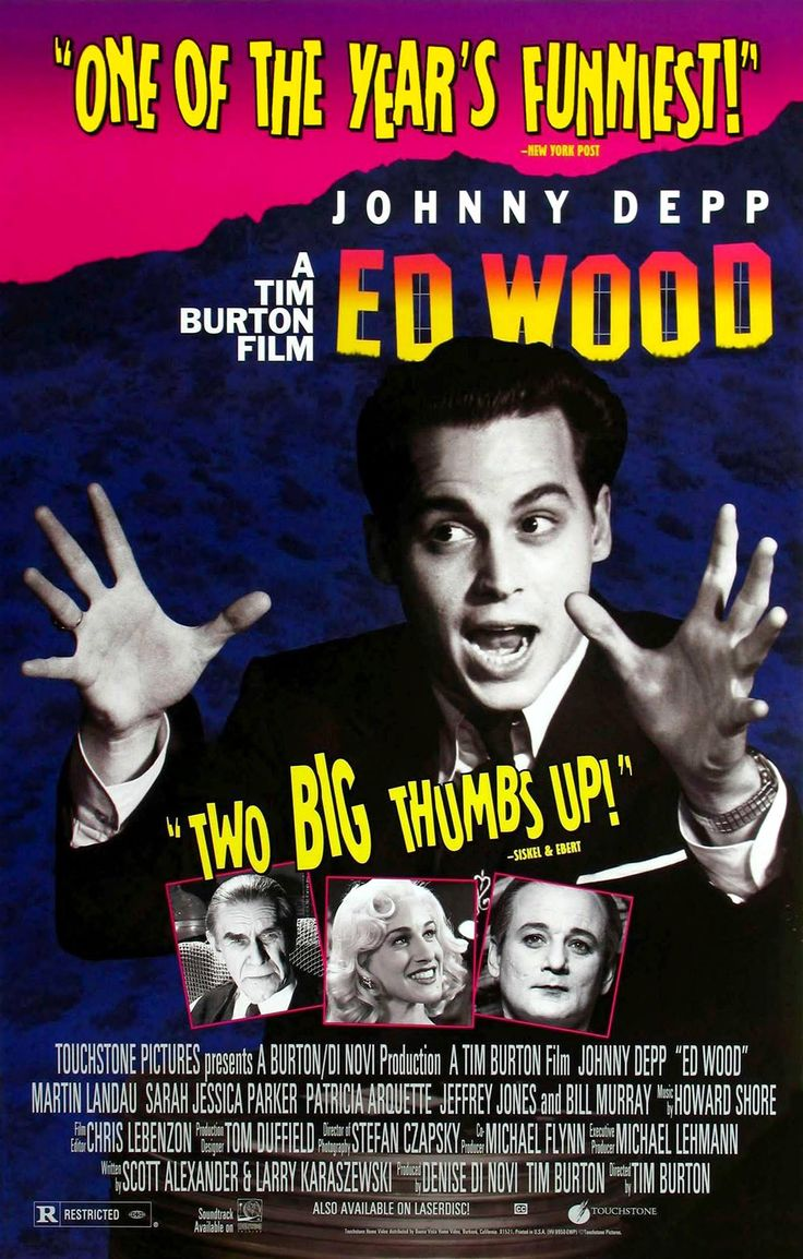 ONLY RECENSIONI TO PLAY WITH: Ed Wood: la Hollywood Babilonia di Tim Burton
