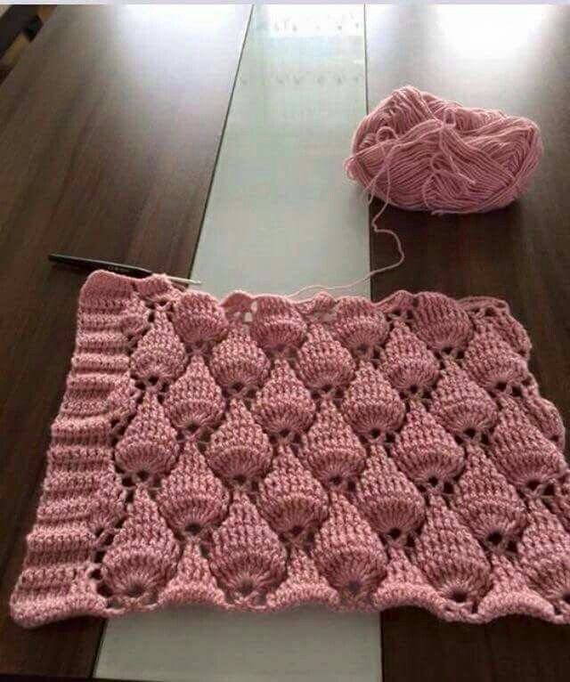 191 best puntos crochet images on Pinterest | Patrones de ganchillo ...