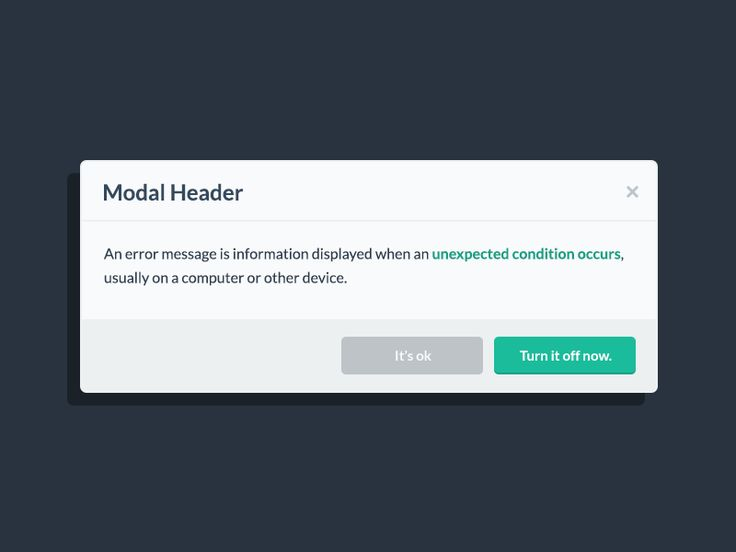 Modal Popup from Flat UI Pro by Designmodo (Adrian)