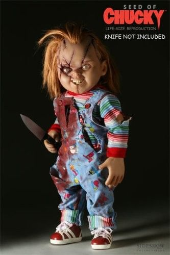 SEED OF CHUCKY Life Size Doll Sideshow Good Guys Prop Replica Childs Play LIFESIZE