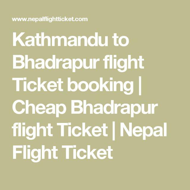 Kathmandu to Bhadrapur flight Ticket booking | Cheap Bhadrapur flight Ticket | Nepal Flight Ticket