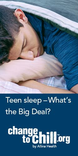 Help teens understand their own sleep habits and learn ways to improve them.