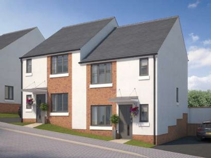 The Buttercup: 3 bedroom semi-detached Prices from £179,950 in Devon.