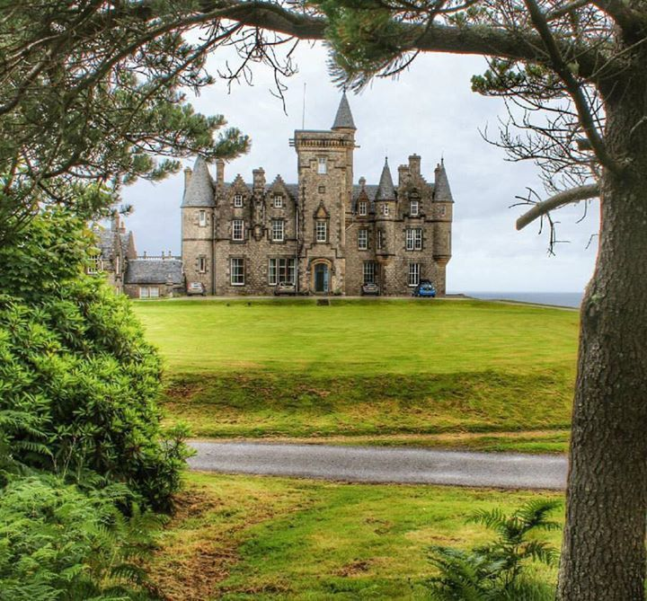 Stay at Glengorm Castle on the Isle of Mull