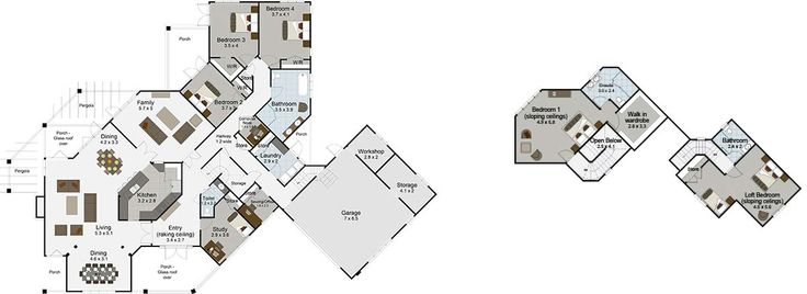 Wanaka 5 bedroom house plan Landmark Homes builders NZ