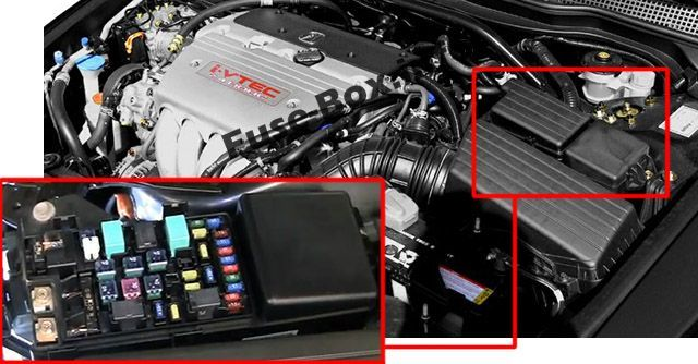 Acura Tsx Cl9 2004 2005 2006 2007 2008 2009 Fuse Box Location Acura Tsx Fuse Box Acura