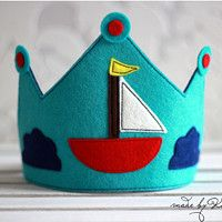 Felt Crowns for Kids #butterfly #crown #felt #boy #kids #name #photo prop #KashKi
