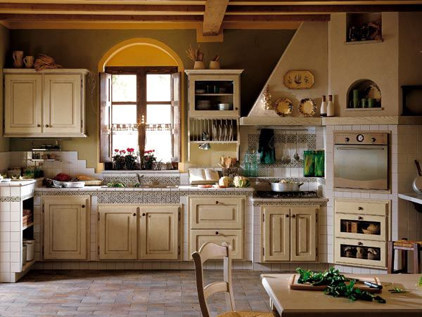 Cucine country uno stile Toscano