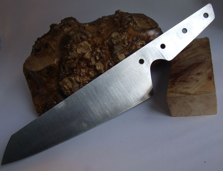 Our new chefs knife, the Cuvac, in progress