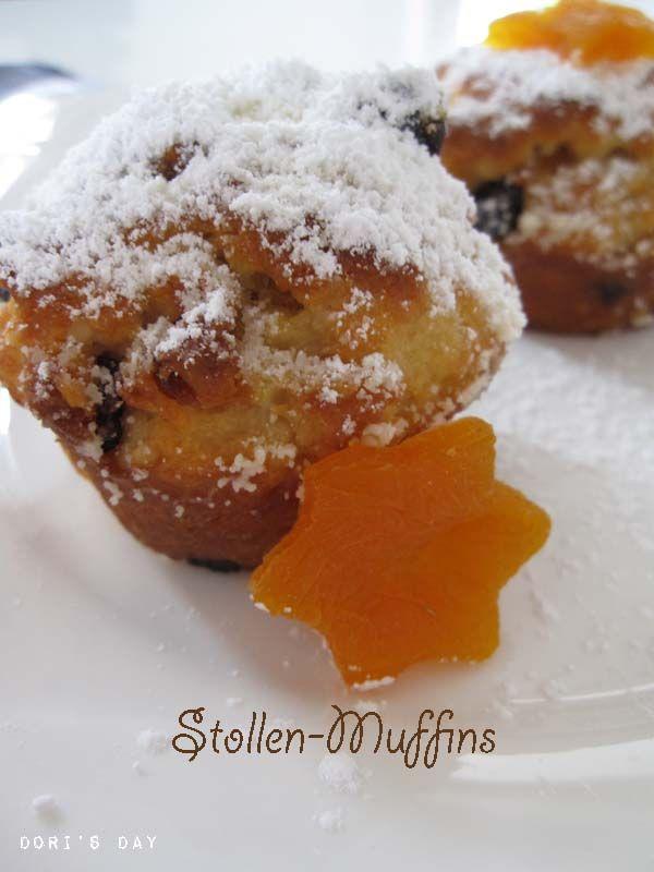 Weihnachtliche Post aus meiner Küche III - Stollenmuffins