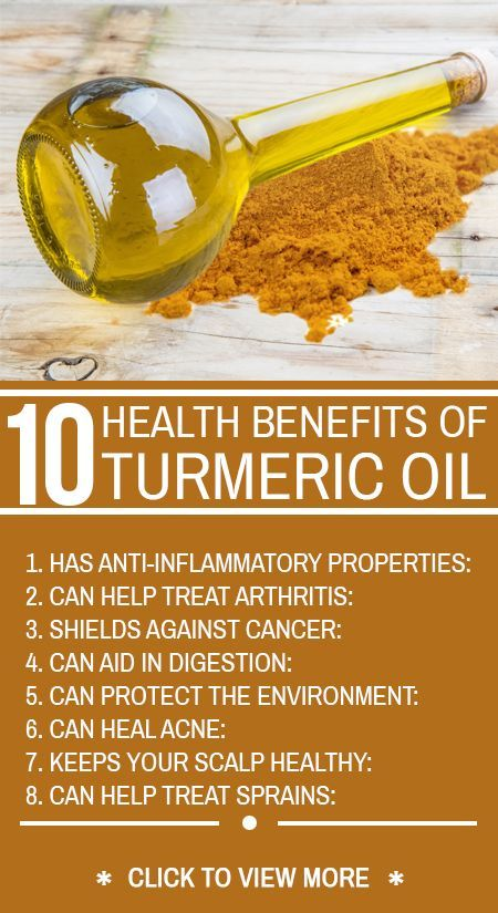 10 Amazing Health Benefits Of Turmeric Oil