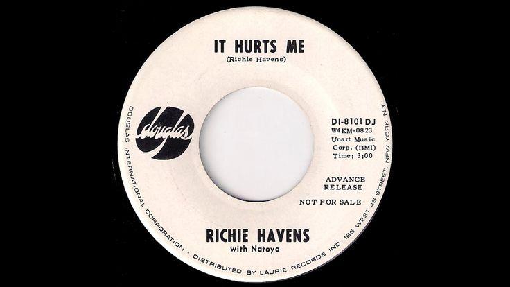 Richie Havens with Natoya - It Hurts Me [Douglas] 1968 Psych Folk 45
