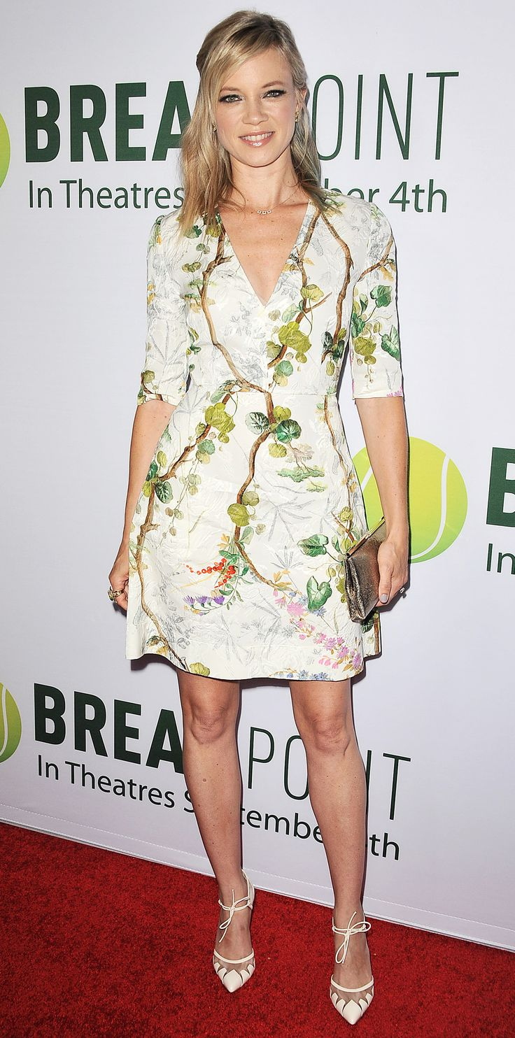 "Look of the Day - August 30, 2015 - Special Screening Of Broad Green Pictures' ""Break Point"" - Arrivals from InStyle.com"