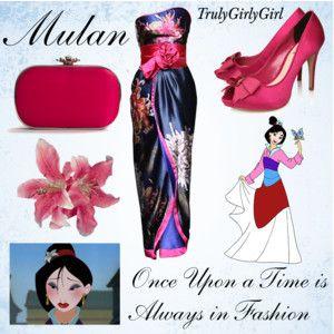 Disney Style: Mulan