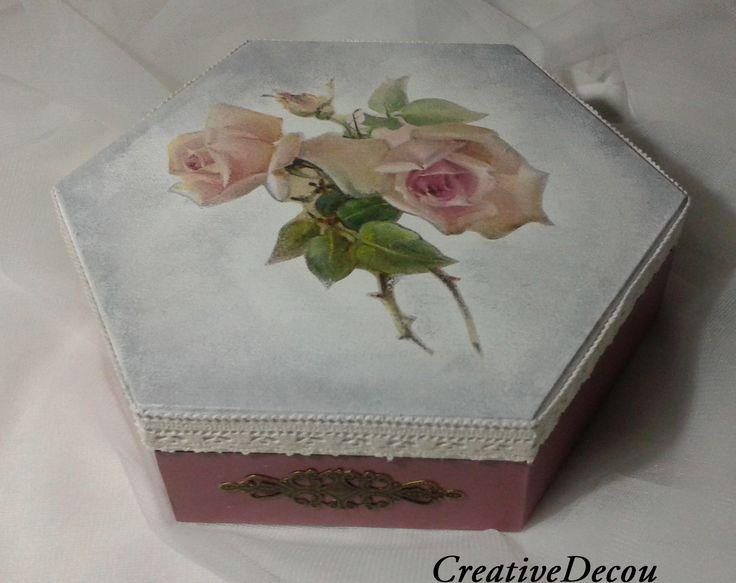 z różą http://creativedecou.blogspot.com/