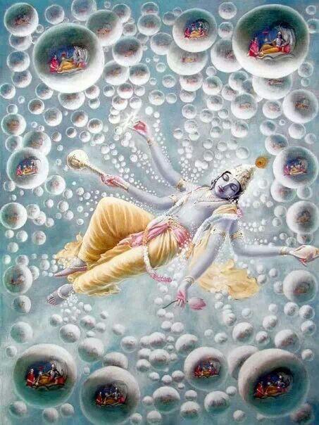 Vishnu anantshayan #India #Hindu