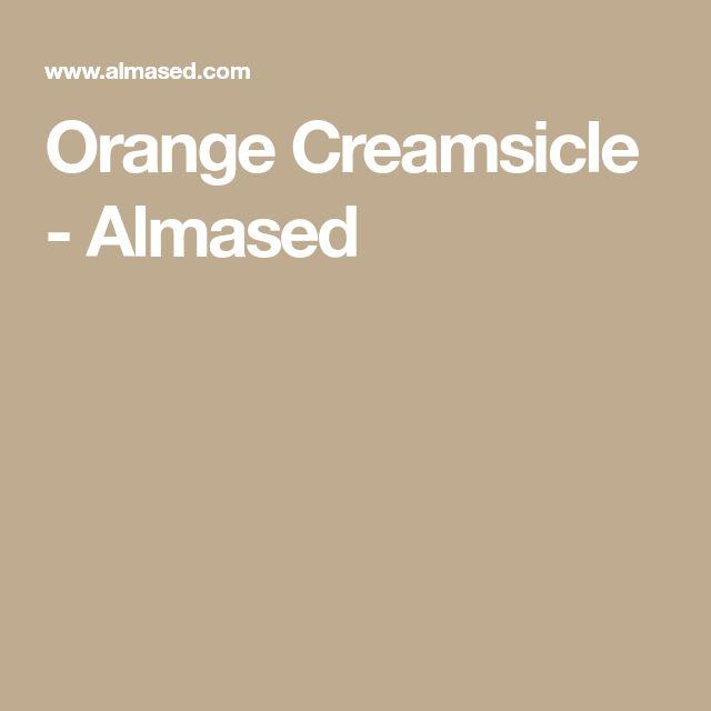 Orange Creamsicle - Almased