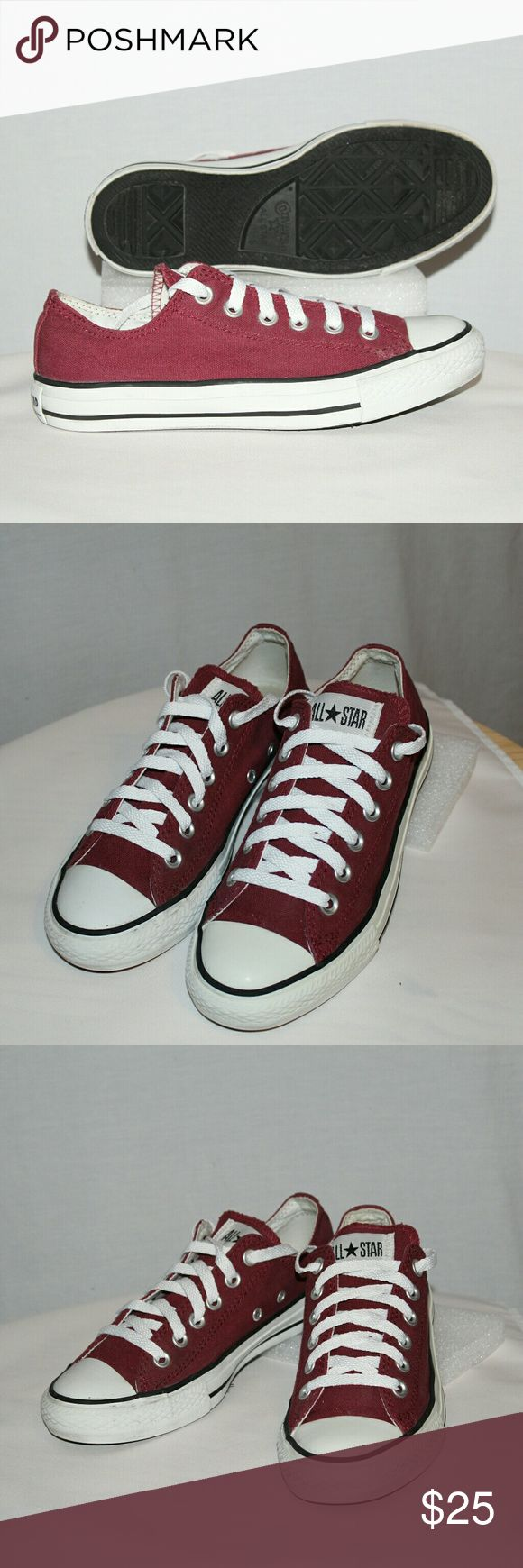 Converse All Stars Converse All Stars,  gently worn, clean upper canvas,  soles show little to no wearing. Converse All Stars Shoes Sneakers