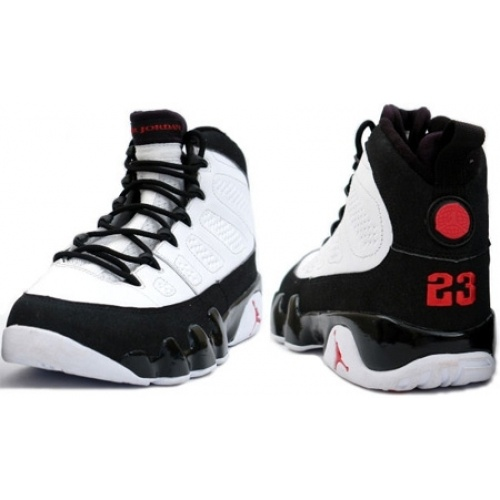 Jordans Shoes Air Jordan 9 White True Red Black Countdown Pack [Jordan 9 -  The Air Jordan IX comes back to us again, releasing apart of a Air Jordan  ...