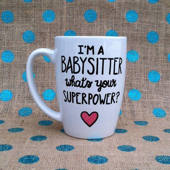 Funny Babysitter Coffee Mug  I'm A Babysitter by Hinzpirations