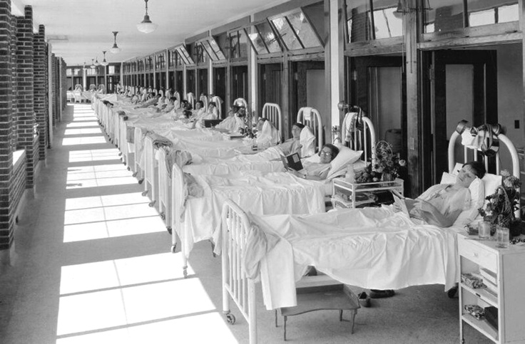 1926, Waverly Hills TB Sanitarium off of Dixie Hwy.