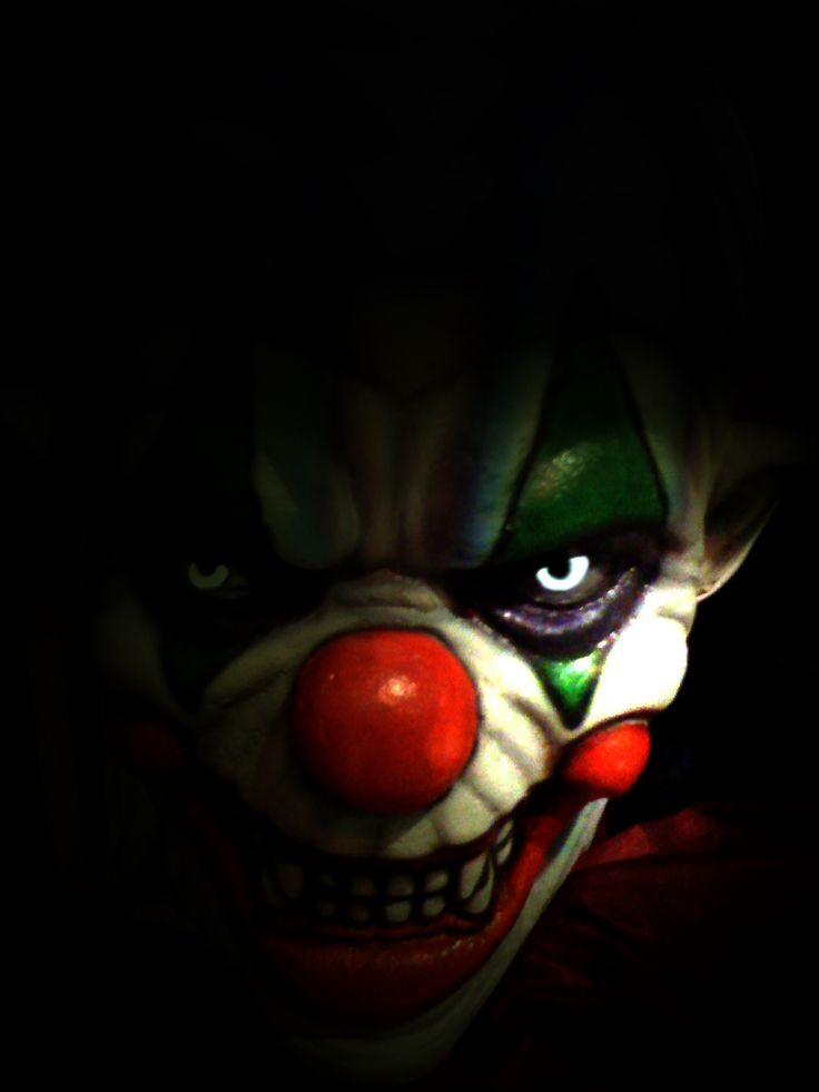 "scary clowns | scary clown"" by Patricia Green"