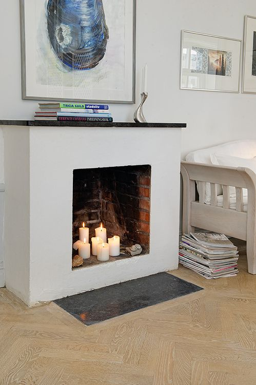 21 Best Images About How To Fill A Fireplace On Pinterest