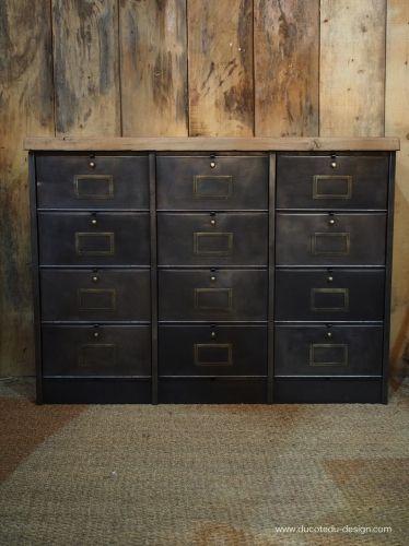 17 meilleures id es propos de armoires m talliques sur pinterest relooking de meuble. Black Bedroom Furniture Sets. Home Design Ideas