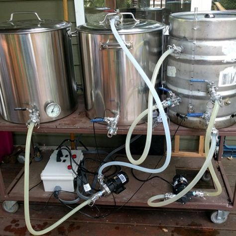 Making a Small-Scale Brewery With A Raspberry Pi And Python | Hackaday