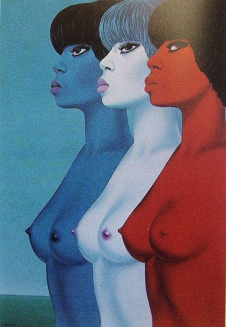 Felix Labisse (French, 1905-1982) - On July 14 a Peak-to-Face, 1968