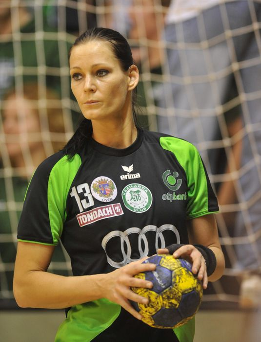 Anita Gorbicz, handball player from hungary